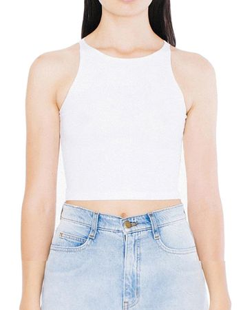 American Apparel: Women`s Sleeveless Crop Top 8369W – Bild 3