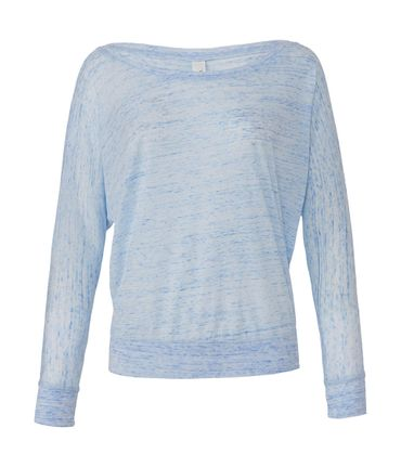 Bella+Canvas: Flowy LS schulterfreies T-Shirt 8850 – Bild 6