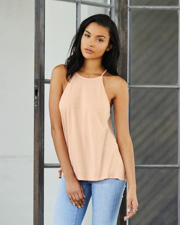 Bella: Women`s Flowy High Neck Tank 8809 – Bild 3