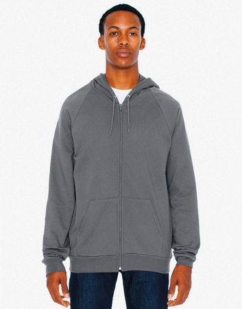 American Apparel: Unisex California Zip Hooded Sweat 5497W – Bild 3