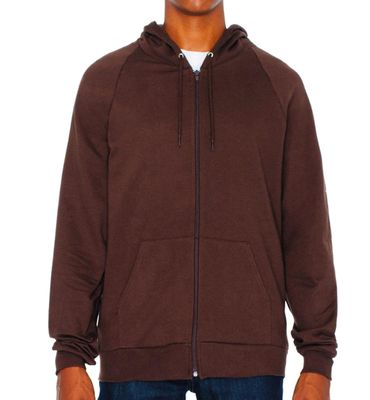 American Apparel: Unisex California Zip Hooded Sweat 5497W – Bild 10