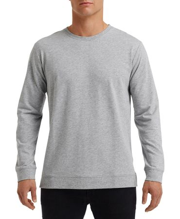Anvil: Unisex Light Terry Crew 73000 – Bild 5