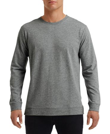 Anvil: Unisex Light Terry Crew 73000 – Bild 6