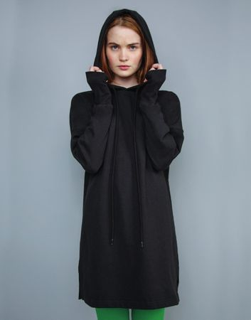 Mantis: Women`s Hoodie Dress M142 – Bild 3