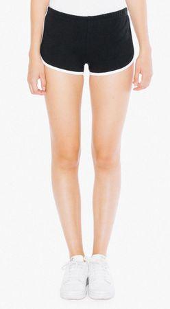 American Apparel: Women`s Interlock Running Shorts 7301W – Bild 6