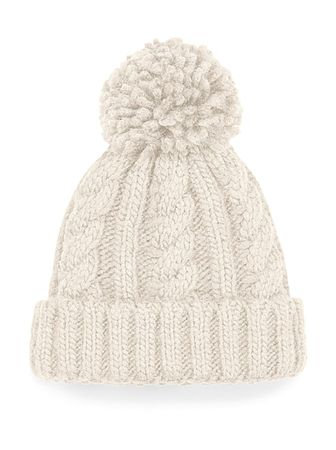 Beechfield: Infant/Junior Cable Knit Melange Beanie B480a/B480b – Bild 5