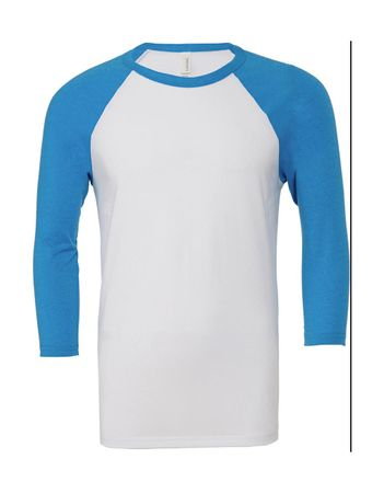 Bella+Canvas: Triblend 3/4 Sleeve Baseball T-Shirt 3200 – Bild 8