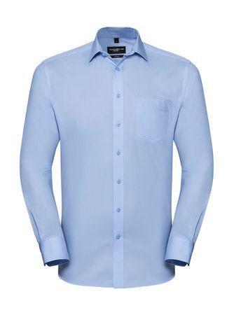 Russell Europe: Men`s LS Tailored Coolmax® Shirt R-972M-0 – Bild 2