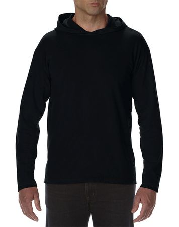 Comfort Colors: Adult Heavyweight LS Hooded Tee 4900 – Bild 3