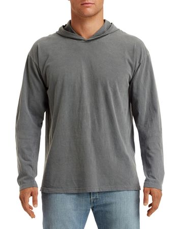 Comfort Colors: Adult Heavyweight LS Hooded Tee 4900 – Bild 4