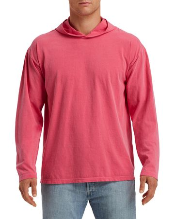 Comfort Colors: Adult Heavyweight LS Hooded Tee 4900 – Bild 10