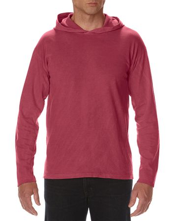 Comfort Colors: Adult Heavyweight LS Hooded Tee 4900 – Bild 11