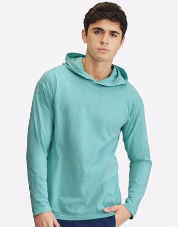 Comfort Colors: Adult Heavyweight LS Hooded Tee 4900 – Bild 1