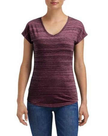 Anvil: Women`s Streak V-Neck Tee 675VIDL – Bild 3