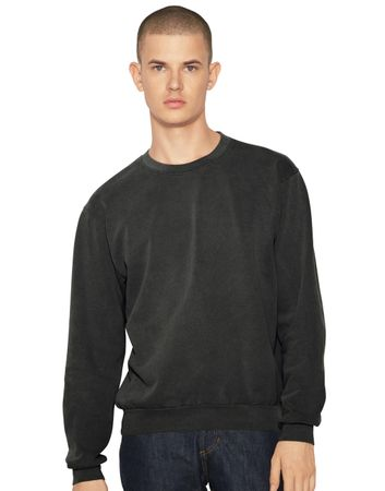 American Apparel: Unisex French Terry Garment Dyed Crew TF478W