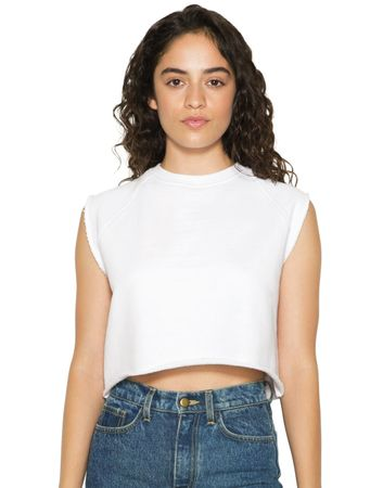 American Apparel: Women`s Heavy Terry Dance Top HVT3370W