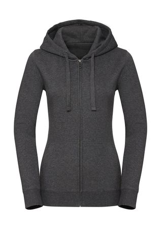 Russell Europe: Ladies` Authentic Melange Zipped Hood Sweat R-263F-0 – Bild 2