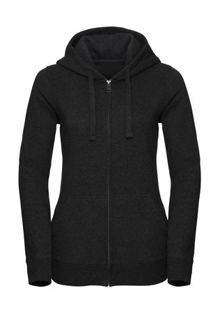 Russell Europe: Ladies` Authentic Melange Zipped Hood Sweat R-263F-0 – Bild 3