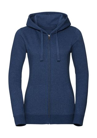 Russell Europe: Ladies` Authentic Melange Zipped Hood Sweat R-263F-0 – Bild 4