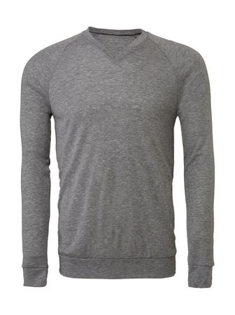 Bella+Canvas: Unisex V-Neck Lightweight Sweater 3985 – Bild 3