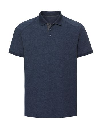 Russell Europe: Men`s HD Raglan Polo R-565M-0 – Bild 4