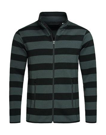 Stedman: Active Striped Fleece Jacket Men ST5090 – Bild 2