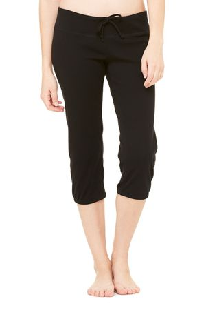 Bella+Canvas: Women`s Capri Scrunch Pant 816 – Bild 2
