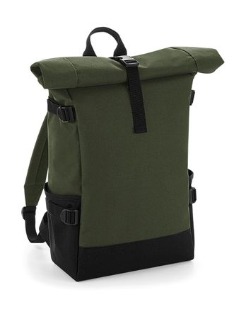 Bag Base: Block Roll-Top Backpack BG858 – Bild 6