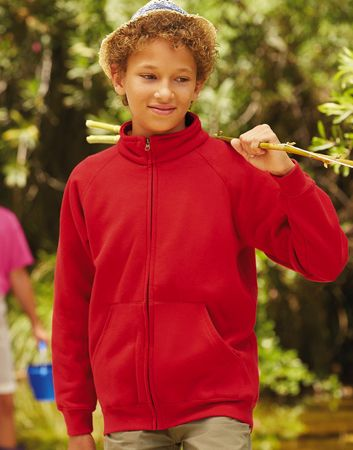 Fruit of the Loom: Kids Sweat Jacket 62-001-0 – Bild 1