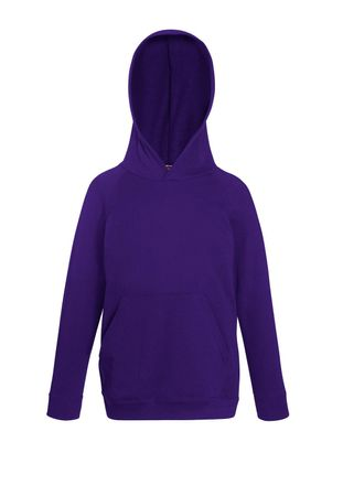 Fruit of the Loom: Kids Lightweight Hooded Sweat 62-009-0 – Bild 8
