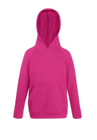 Fruit of the Loom: Kids Lightweight Hooded Sweat 62-009-0 – Bild 11