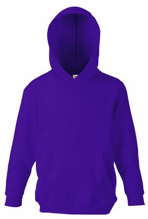 Fruit of the Loom: Kids` Hooded Sweat 62-043-0 – Bild 10