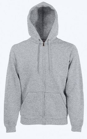 Fruit of the Loom: Hooded Sweat Jacket 62-062-0 – Bild 4