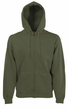 Fruit of the Loom: Hooded Sweat Jacket 62-062-0 – Bild 12