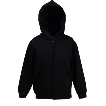 Fruit of the Loom: Kids Hooded Zip Sweat 62-035-0 – Bild 2