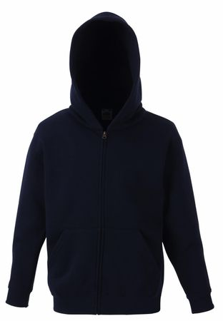 Fruit of the Loom: Kids Hooded Zip Sweat 62-035-0 – Bild 6