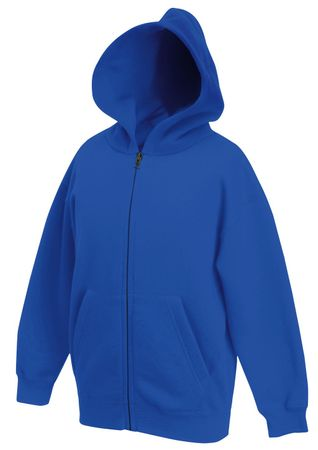 Fruit of the Loom: Kids Hooded Zip Sweat 62-035-0 – Bild 8