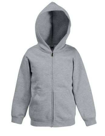 Fruit of the Loom: Kids Hooded Zip Sweat 62-035-0 – Bild 4