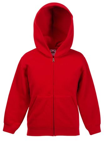 Fruit of the Loom: Kids Hooded Zip Sweat 62-035-0 – Bild 10