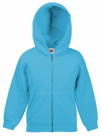 Fruit of the Loom: Kids Hooded Sweat Jacket 62-045-0 – Bild 10