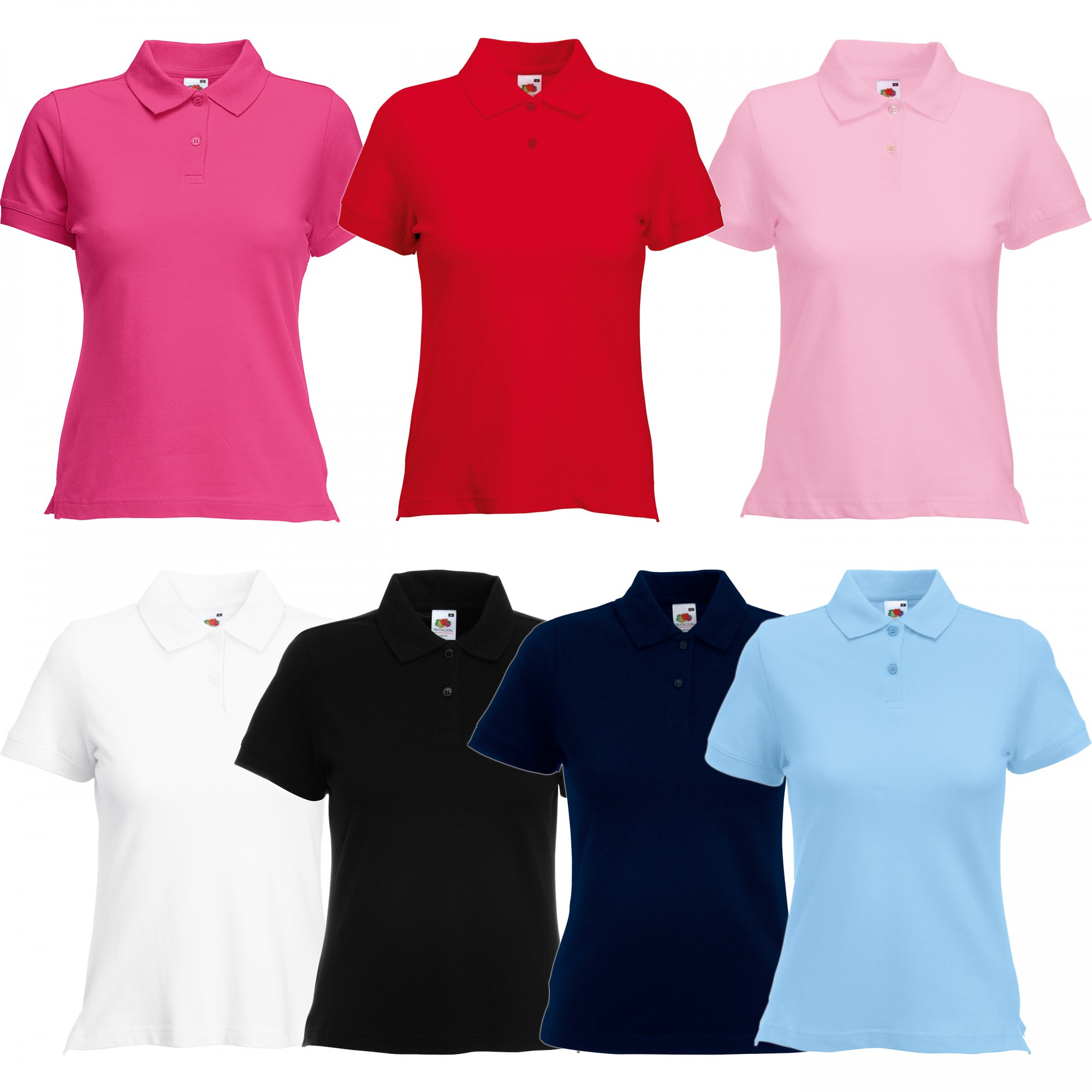 Fruit of the Loom: Lady-Fit Polo 63-560-0