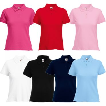 Fruit of the Loom: Lady-Fit Polo 63-560-0 – Bild 1