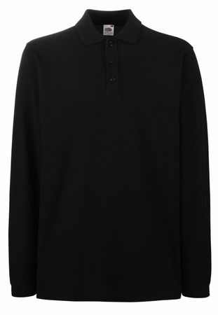 Fruit of the Loom: Premium Long Sleeve Polo 63-310-0 – Bild 3