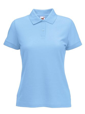 Fruit of the Loom: Ladies` Polo Mischgewebe 63-212-0 – Bild 8