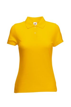 Fruit of the Loom: Ladies` Polo Mischgewebe 63-212-0 – Bild 12