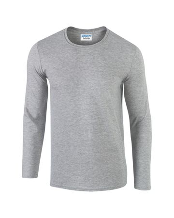 Gildan: Softstyle Long Sleeve Tee 64400 – Bild 4