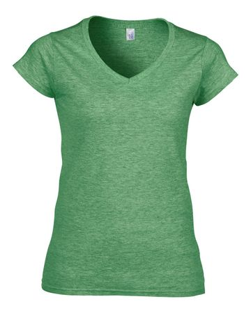 Gildan: Ladies Softstyle V-Neck T-Shirt 64V00L – Bild 13