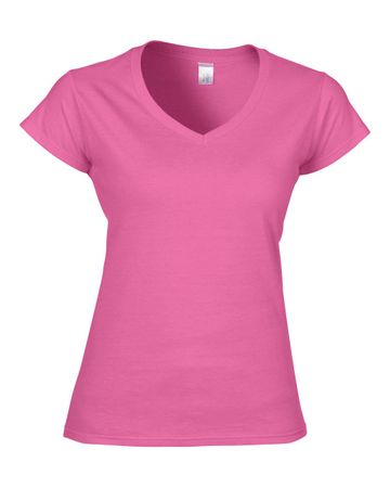 Gildan: Ladies Softstyle V-Neck T-Shirt 64V00L – Bild 11