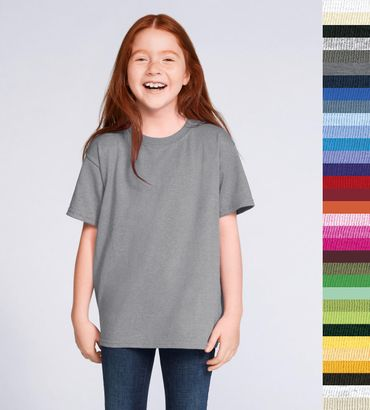 Gildan: Kids Heavy T-Shirt 5000B – Bild 1