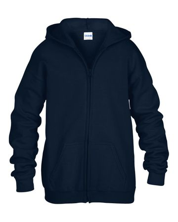 Gildan: Kids` Full Zip Hooded Sweat 18600B – Bild 5